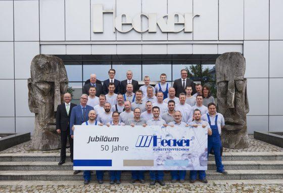 50-year company anniversary